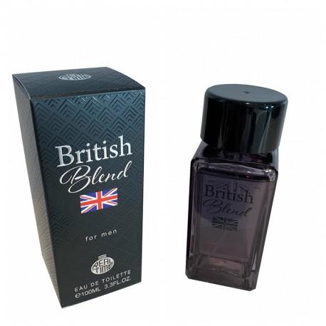 British Blend For Men Eau de Toilette Spray 100 ML - Real Time