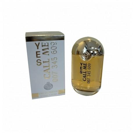 Yes Call Me 007 345 609 Eau de parfum for women 100 ml - Real Time