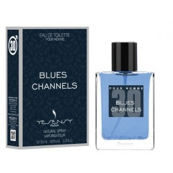 BLUES CHANNELS Pour Homme Eau De Toilette Spray 100 ML