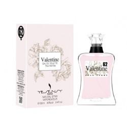 VALENTINE Pour Femme Eau De Toilette Spray 100 ML