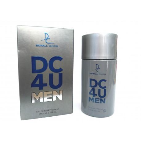 Dc4U For Men Eau De Toilette 100 ML - Dorall Collection