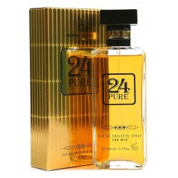 24 Pure For Men Eau De Toilette 100 ML - Dorall Collection