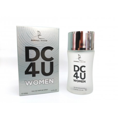Dc4U For Woman Eau De Parfum 100 ML - Dorall Collection