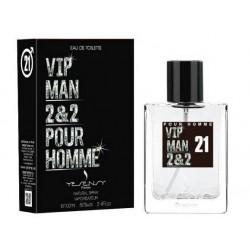 VIP MAN 2&2 Pour Homme Eau De Toilette Spray 100 ML