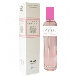 Vercase Light Cristal Femme Eau De Toilette Spray 200 ML