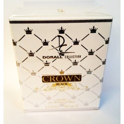 Crown Black For Men Eau De Toilette 100 ML - Dorall Collection