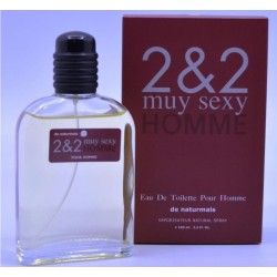 2&2 Muy Sexy Men Eau de Toilette Spray 100 ML