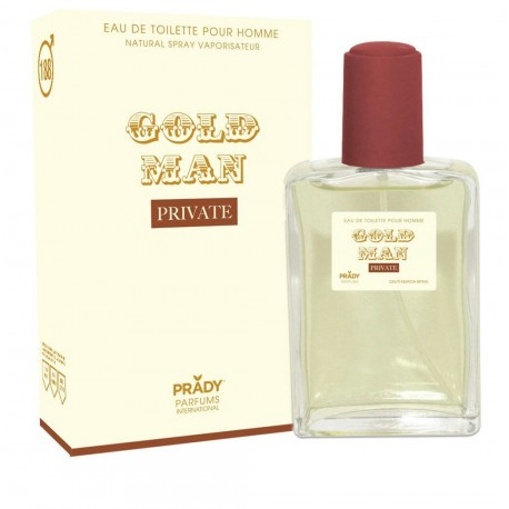 Gold Man Private Eau De Toilette Spray 100 ML