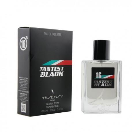 Fastest Black Pour Home Eau De Toilette 100 ML - Yesensy