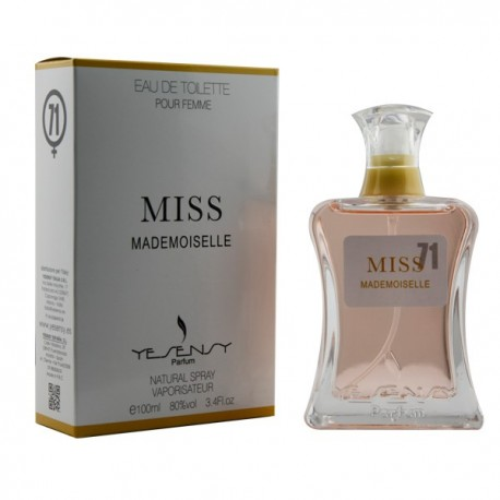 Miss Mademoiselle Pour Femme Eau De Toilette 100 ML - Yesensy