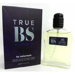 True BS True Obsession Pour Homme de Naturmais Eau De Toilette Spray 100 ML