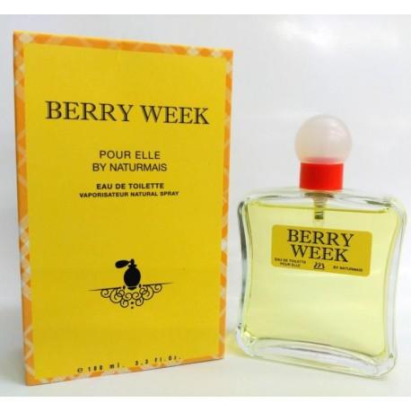 Berry Week Pour Femme de Naturmais Eau De Toilette Spray 100 ML