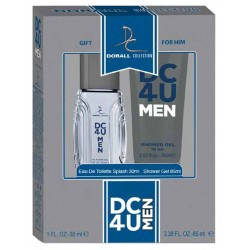 Estuche Set - Gift for Him DC4U For Men Eau De Toilette 30 ML + Shower gel 85 ML - Dorall Collection