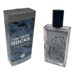 Pure on the Rocks for Men Eau de Toilette Spray 100 ML - Real Time
