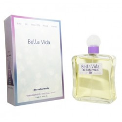 Bella vida Pour Femme de Naturmais Eau De Toilette Spray 100 ML