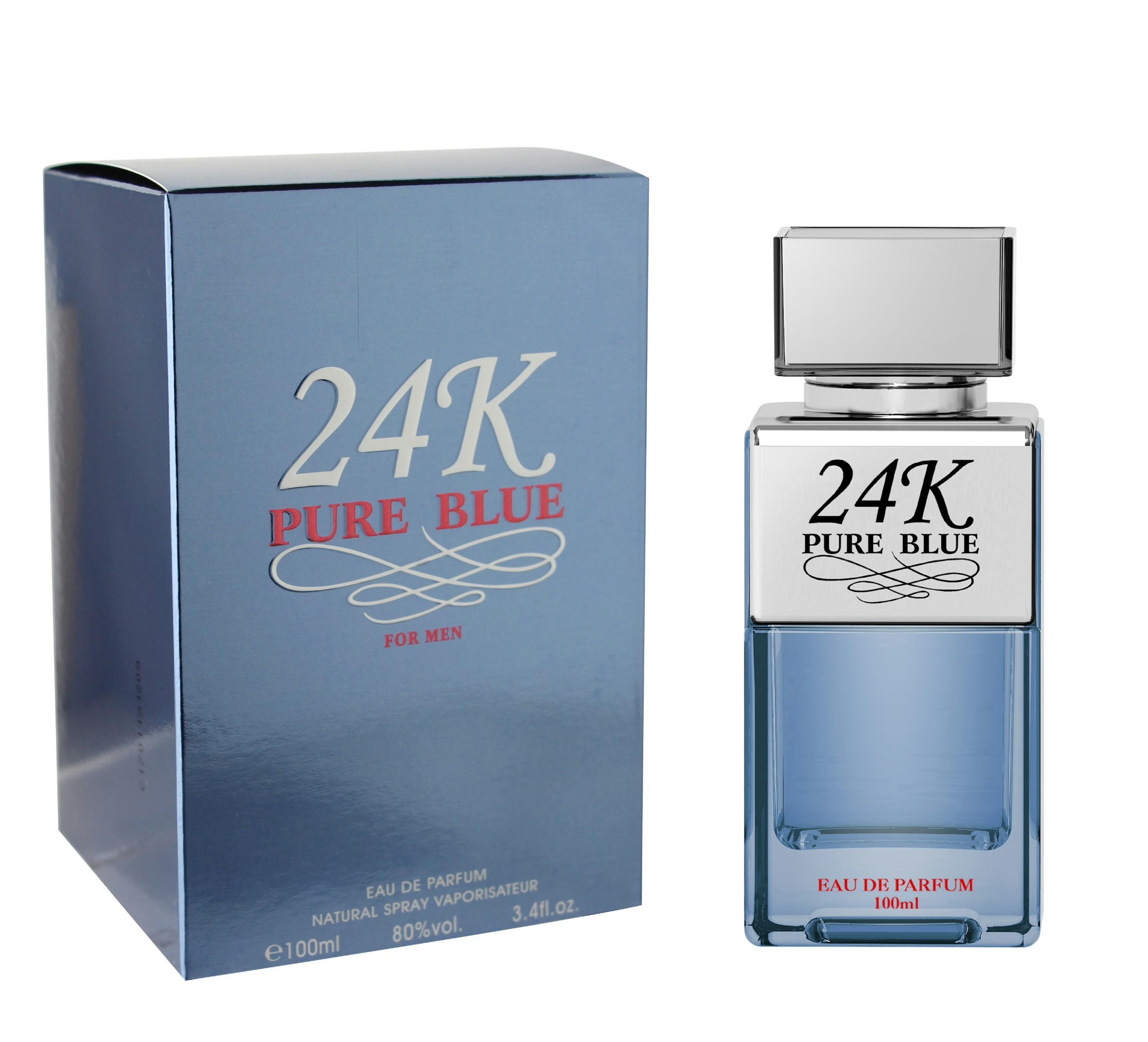 24k Pure Blue Pour Homme Eau de Parfum spray 100 ML