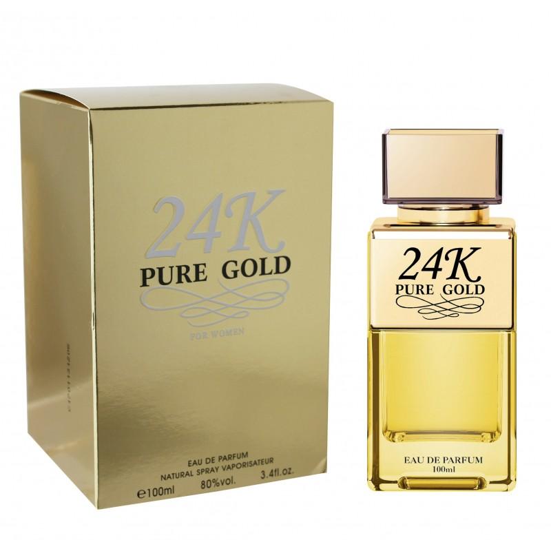 24k Pure Gold Pour Femme Eau de Parfum spray 100 ML