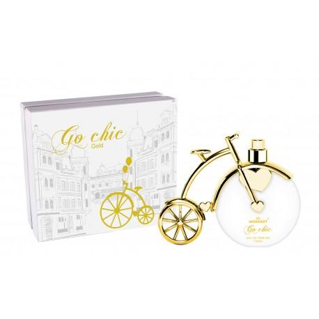 Go Chic gold Pour Femme Eau de Parfum spray 100 ML