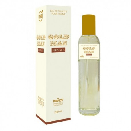 Gold Man Private Eau De Toilette Spray 200 ML