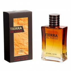 Tierra del Fuego Pour Homme Eau de Toilette Spray 100ML - Real Time