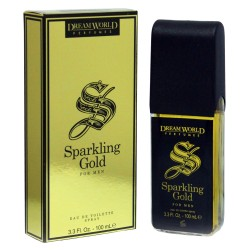 Sparkling Gold for Men Eau De Toilette Spray 100 ML - Dreamworld