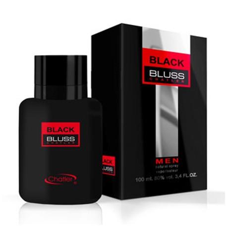 Chatler Bluss Black Men - Eau de Toilette para Hombre 100 ml