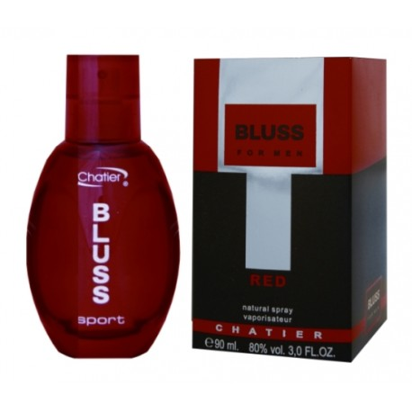 Chatler Bluss Red Sport - Eau de Toilette para Hombre 100 ml