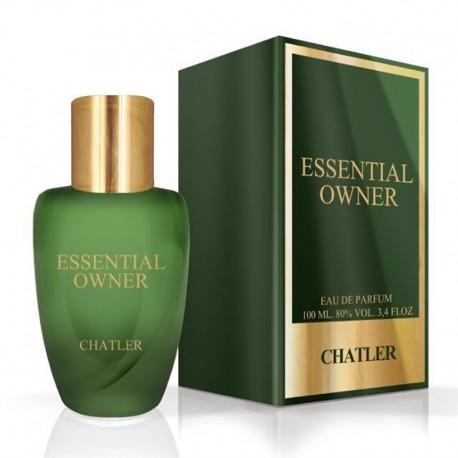 Chatler Essential Owner - Eau de Parfum para Hombre 100 ml