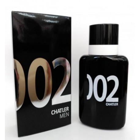 Chatler 002 Men - Eau de Toilette para Hombre 100 ml
