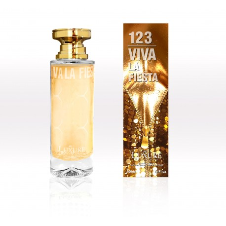 1 2 3 Viva la Fiesta Eau de Parfum Femme Spray 100ML