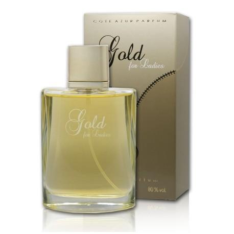 Cote Azur Gold For Ladies - Eau de Parfum Pour Femme 100 ml