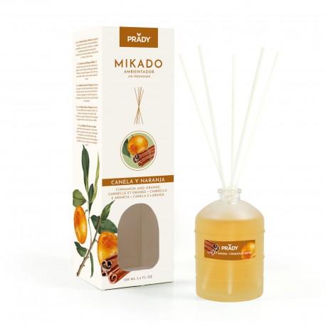 Mikado Canela Y Naranja - Ambientador 100ML Prady