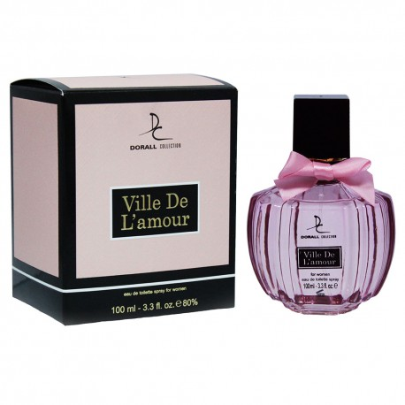 Ville de L`amour For Woman Eau De Parfum 100 ML - Dorall Collection