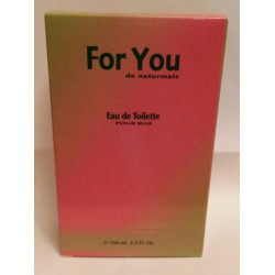 For You Femme Eau De Toilette Spray 100 ML