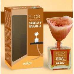 Flor Perfumada Canela y Naranja Prady - Ambientador 90ML