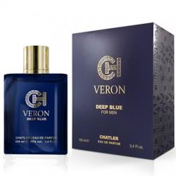 Chatler Veron Deep Blue - Eau de Toilette para Hombre 100 ml