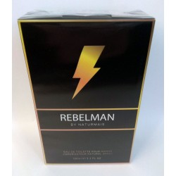 Rebelman by Naturmais pour Homme Eau de Toilette Spray 100 ml
