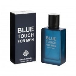 Blue Touch for Men Eau de Toilette Spray 100 ML - Real Time