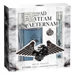 AD Vitam Aeternam for Men Eau de Toilette Spray EDT 100ml + 10ml Ad Vitam Aeternam