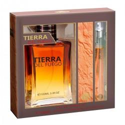 Tierra del Fuego Pour Homme Eau de Toilette Spray EDT 100ml + 10ml Tierra del Fuego - Real Time