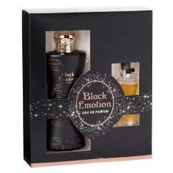 Black Emotion for women Eau de Parfum EDP 100ml + 15ml Black Emotion - Real Time