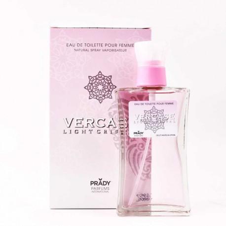 Vercase Light Cristal Femme Eau De Toilette Spray 100 ML
