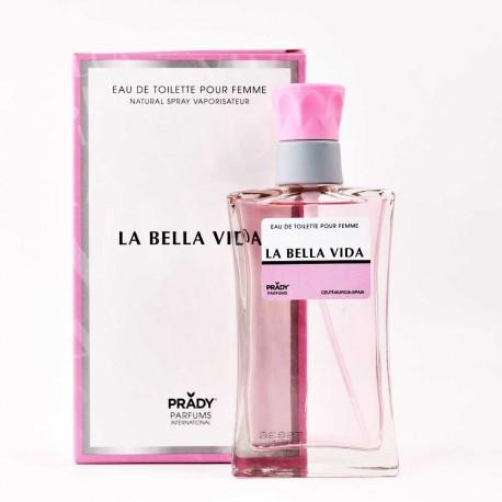La Bella Vida Femme Eau De Toilette Spray 100 ML