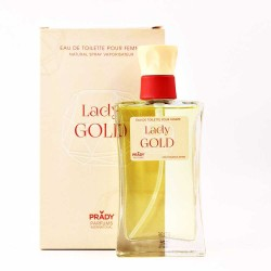 Lady Gold Pour Femme Eau De Toilette Spray 100 ML