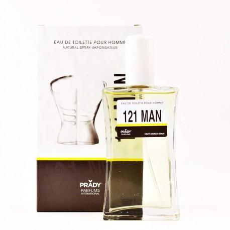 121 Man Pour Homme Eau De Toilette Spray 100 ML