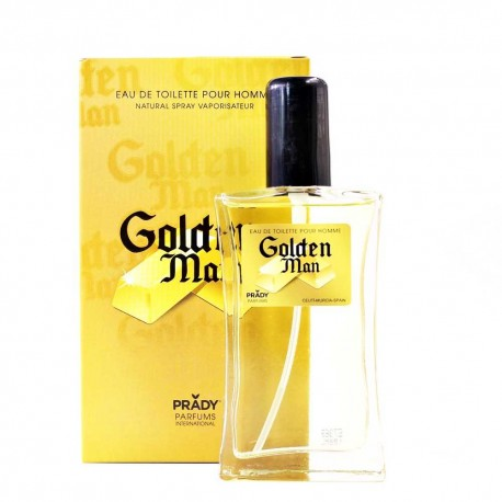 Millionaire Homme Eau De Toilette Spray 100 ML - Golden Man