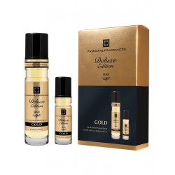 Set Fashion & Fragrances Man EDITION DELUXE GOLD Spray 125 ML Edp Spray 125 ml + Edp Spray 30 ML