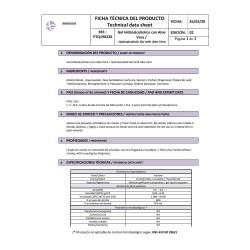 Gel Hidroalcohólico Limpiamanos con Aloe Vera 5 litros