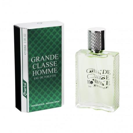 Grande Classe Homme for men Eau de Toilette Spray 100 ML Omerta