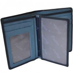 Cartera de Piel Hombre Pielini Mod 3064 Azul